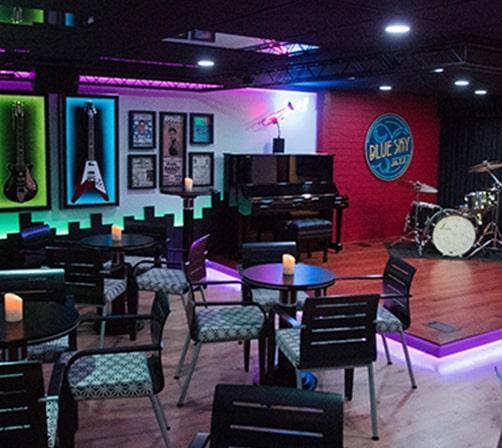 BlueSky Jazz Stage