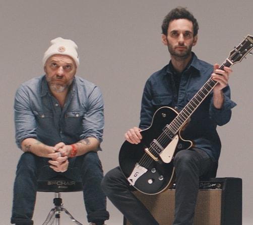 Dave King & Julian Lage sitting